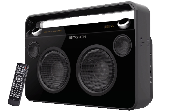 Sistema audio portatile isnatch_2