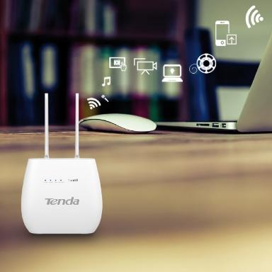 Router wireless n300 4g lte sim volte con 2 porte switch_1